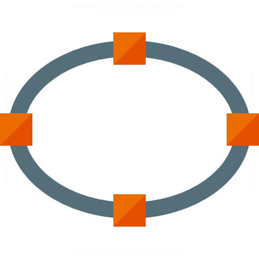 Vector Ellipse Icon