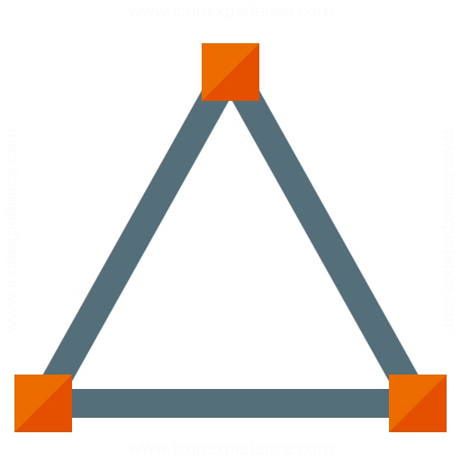 Vector Triangle Icon
