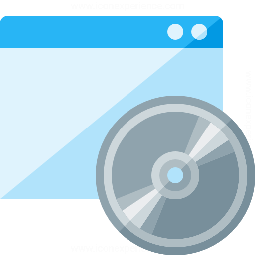 Window Cd Icon