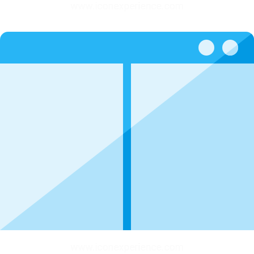 Window Split Hor Icon