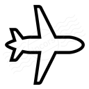 Airplane Icon 128x128