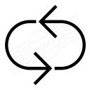Arrow Loop 3 Icon 128x128