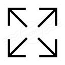 Arrow Spread 2 Icon 128x128