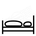 Bed Empty Icon 128x128