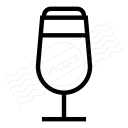Beer Glass Icon 128x128