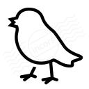 Bird Icon 128x128