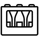 Bottle Crate Icon 128x128