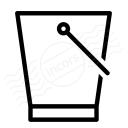 Bucket Icon 128x128