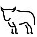 Bull Icon 128x128