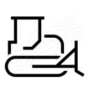 Bulldozer Icon 128x128