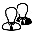 Businessmen Icon 128x128