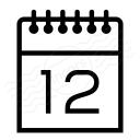 Calendar Icon 128x128