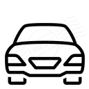 Car Sedan Icon 128x128