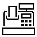 Cash Register Icon 128x128