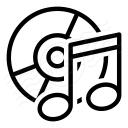 Cd Music Icon 128x128