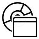 Cd Window Icon 128x128