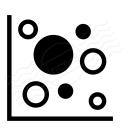 Chart Bubble Icon 128x128