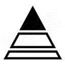 Chart Pyramid Icon 128x128