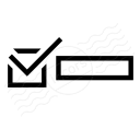 Checkbox Selected Icon 128x128