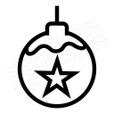 Christmas Ball Icon 128x128