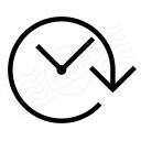 Clock Forward Icon 128x128