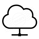 Cloud Network Icon 128x128