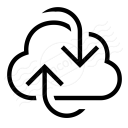 Cloud Refresh Icon 128x128