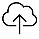 Cloud Upload Icon 128x128