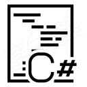 Code Csharp Icon 128x128