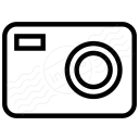 Compact Camera Icon 128x128