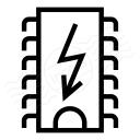 Cpu Flash Icon 128x128