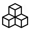 Cubes Icon 128x128