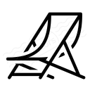 Deck Chair Icon 128x128
