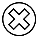 Delete Icon 128x128