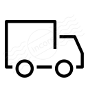 Delivery Truck Icon 128x128
