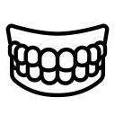 Denture Icon 128x128