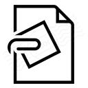 Document Attachment Icon 128x128