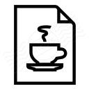 Document Cup Icon 128x128