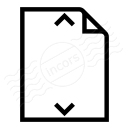 Document Height Icon 128x128