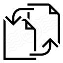 Documents Exchange Icon 128x128