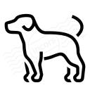 Dog Icon 128x128