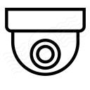 Dome Camera Icon 128x128