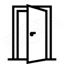 Door Open Icon 128x128