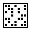 Dot Matrix Icon 128x128