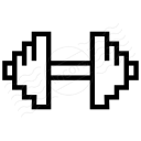 Dumbbell Icon 128x128