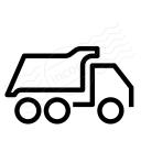 Dump Truck Icon 128x128