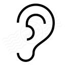 Ear Icon 128x128