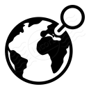 Earth Location Icon 128x128