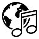 Earth Music Icon 128x128