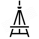 Easel Empty Icon 128x128